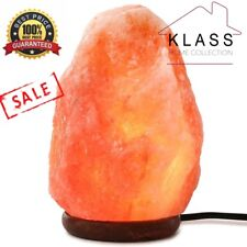 Himalayan Natural Ionizing Salt Lamp Natural Light USB LED RED Light Xmas Gift
