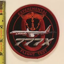 Boeing Flight Test Patch - 777X Experimental Flight Test for New 777 aircraft