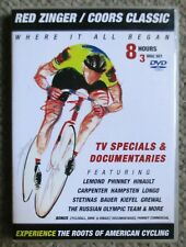 Red Zinger/Coors Classic 3 DVD set VeloGear Cycling 8 hrs Lemond Very Clean