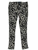 Tripp NYC Skinny Spotted Animal Print Women's Punk Jeans Size 11
