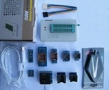 Tl866ii Plus Programmer For Spi Flash Nand Eeprom Mcu Pic9 Adapterclip