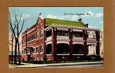 Appleton,WI Wisconsin Elk's Club used 1920