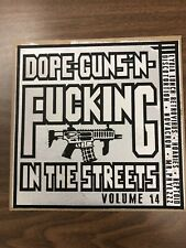 Dope Guns 'N Fucking in the Streets Volume 14 Gunmetal Vinyl Letterpress Edition