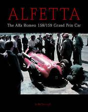 ALFA ROMEO ALFETTA 158 & 159 MOTOR RACING CAR BOOK jm