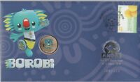 2018 Borobi Gold Coast Games PNC, ANDA Perth Silver Overprint numbered LMT ED