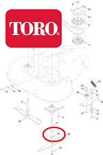 Savers-ORIGINALE TORO Timemaster 20975 LAME piatto Adattatore 120-5236 96