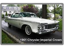 1961 Chrysler Imperial Crown  Auto  Refrigerator / Tool Box Magnet