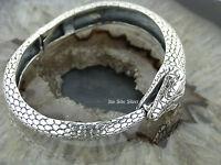 Silberarmreif Silberarmband Silber 925 Schlange Snake Armband Bracelet