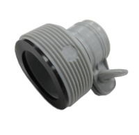 """Intex Type B Adapter for Above Ground Pools Converts 1.25"""" to 1.5"""" Item # 10722"""