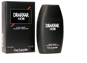 Drakkar Noir By Guy Laroche 3.4 oz EDT Cologne New in Sealed box