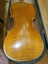 Nice old Conservatory Violin,4/4-labeled Stradivarius