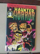 Haunted Horror #15 / Pre-Code Horror Comics Reprints / COLOR / IDW / Feb 2015