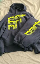 Boys Carbrini Blue & Green Writing Hoodie & Joggers Mixed Sizes 12-13 10-12