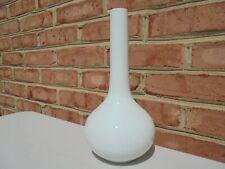 """Vintage Rosenthal Romance All White Flower Vase 10 3/8"""""""