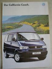 VW California Coach brochure Jun 1996 German text