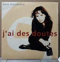 """SP Sara Mandiano  """"J'ai des doutes""""  or.fr 1991 ( EX / EX+)"""