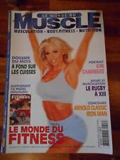 LE MONDE DU MUSCLE #243 bodybuilding magazine KIM CHAMBERS 5-04 (Fr)