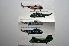 Décalques / Decals  ESCI, 1/72 – Hélicoptères