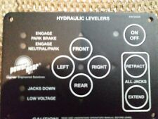 Power Gear hydraulic leverlers Touch Pad 500535 Control