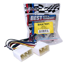 BHA7901 Aftermarket Radio Replacement Installation Wire Harness Cable for Mazda