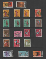 SINGAPORE 1968-73 QEII  SET OF 20 (SG 101/115) FINE USED CV £130