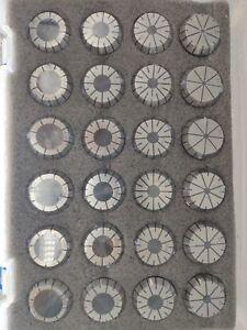 High Precision ER40 Collet Set,3-26MM by 1MM,24pcs/set ,Tolerrance 0.008mm