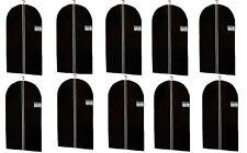 10x Kleidersack - Größe wählbar - Kleiderhülle Kleider Schutzhülle Kleidersäcke