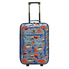 18' Kids Pilot Case Carry On Suitcase, Dino & Dinosaur Print Travelling Bag