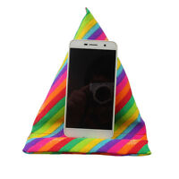Universal Tablet Mount Holder Stand Rainbow Pillow For iPad Samsung Tablet