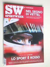 SPORT WEEK  n.10  2015 // Vettel, Ferrari, Formula 1,  Tennis terra rossa i miti