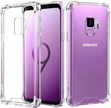 Samsung Galaxy S9 Crystal Clear Case Soft Bumper Shock Proof Scratch-Resistant
