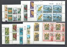 RHODESIA 1966 SG 347/87 USED Blocks of 4 Cat £60
