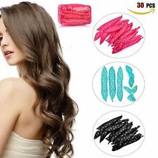 30PC Hair Curlers Soft Sponge Pillow Hair Rollers Magic Flexible Foam Curls Tool