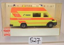 Busch 1/87 n. 47906 IVECO DAILY RDC servizio di soccorso Karlsruhe OVP #527