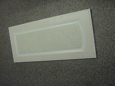 White and ivory/beach Kitchen door 400mm x 900mm (new)