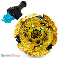 Fusion METAL Beyblade Masters BB99 Hades / Hell Kerbecs +BLUE LAUNCHER+GRIP