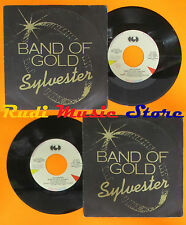 LP 45 7'' SYLVESTER Band of gold 1983 italy CGD INT 10500 cd mc dvd (*)