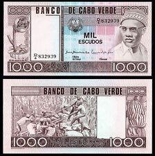 CAPE VERDE 1000 ESCUDOS (P56a) 1977 UNC