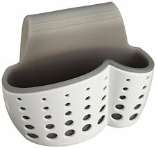 Casabella Sink Sider Faucet Sponge & Dish Brush Holder - Dish Washing Tool Caddy