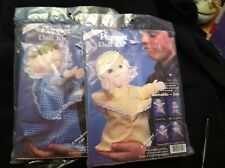 McNeill Puppet Doll Kits - 2!  Sleepy Sammy & Susie Sunshine - New, Vintage 1984