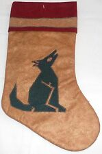 """Collectable Western Christmas Stocking  15 1/2"""" x 8 1/2"""""""