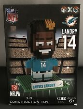 NFL Miami Dolphins #14 Jarvis Landry 3-D Construction Toy New 432 Pieces