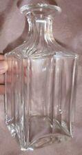 Baccarat - Flacon en cristal taillé pour cave à liqueur : pas de bouchon