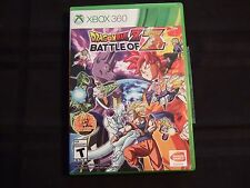 Replacement Case (NO GAME) DRAGON BALL Z BATTLE OF Z   XBOX 360
