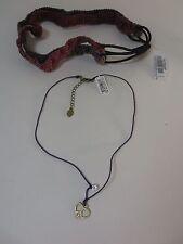 American Eagle Outfitters AEO Purple Necklace Headband Set NWT $15.50 each set 2