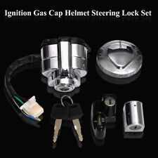 For Honda VT250 Shadow VT400 VT600 VT750 Ignition Switch Gas Cap Helmet