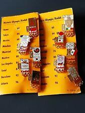 More details for joblot of 10 1960-2000 kodak sponsered olympic enamel pin badges (mint)