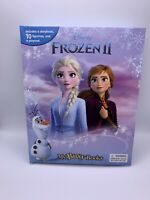 Disney Frozen 2 My Busy Books 10 Figurines & Playmat Storybook Hardcover Book