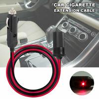 5M Car Cigarette Lighter Extension Cable Adapter Socket Cigar Charger Cord 12V