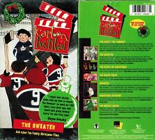 Christmas Cartoon Festival VHS Video Tape New Roch Carrier, Jean-Guy Moreau,